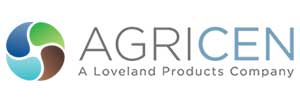 Agricen logo - A Loveland Products Company